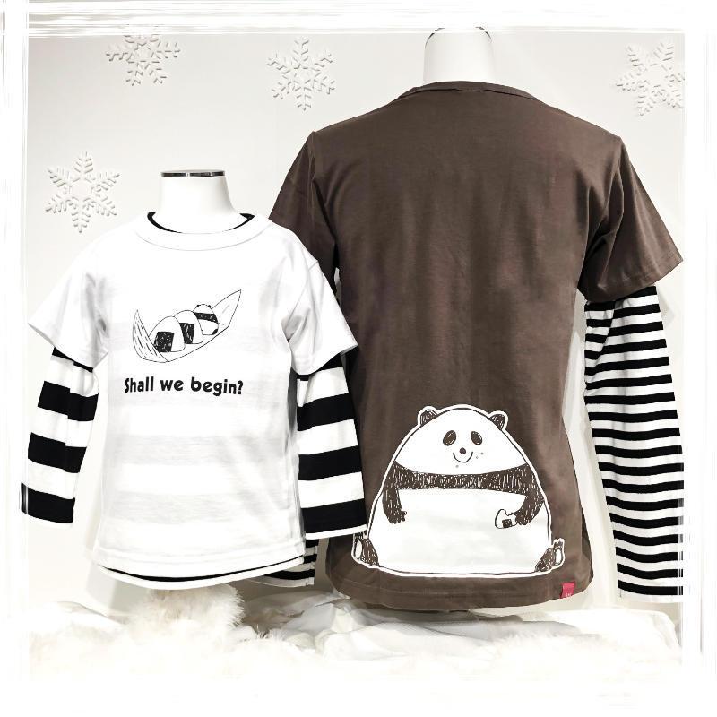 Tシャツ・おむすびパンダ