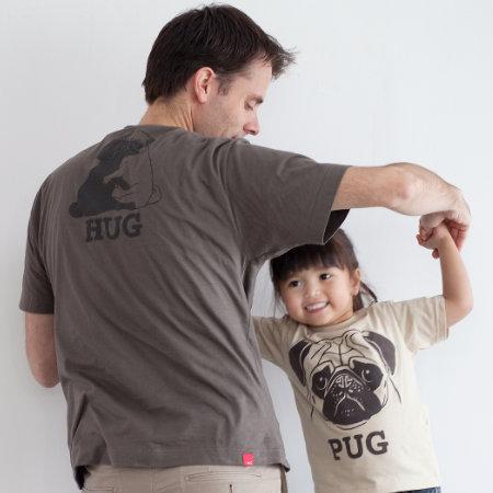 父の日はOJICOでパパとお揃い!Tシャツ「PUG」