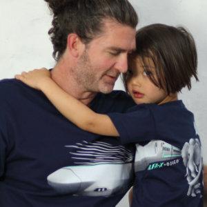 父の日はOJICOでパパとお揃い!Tシャツ「ALFA-X」