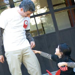 父の日はOJICOでパパとお揃い!Tシャツ「ダルマ」