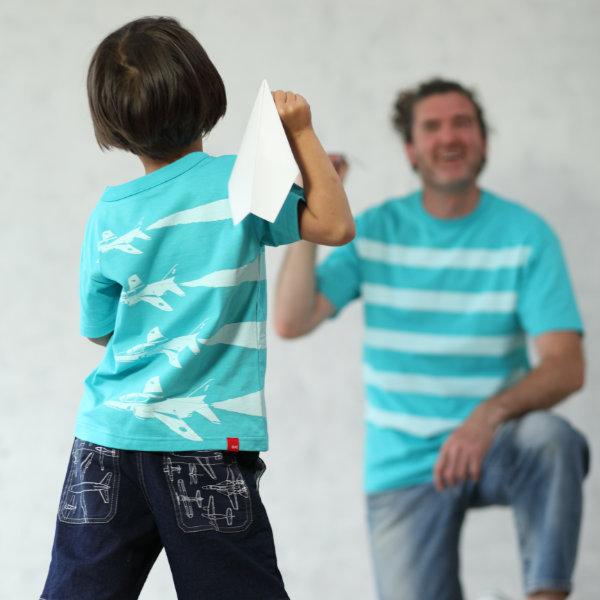 父の日はOJICOでパパとお揃い!Tシャツ「ブルーインパルス」