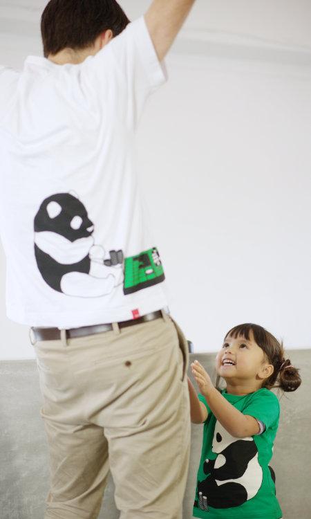 父の日はOJICOでパパとお揃い!Tシャツ「リバーシ」