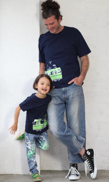 父の日はOJICOでパパとお揃い!Tシャツ「レッツズー」