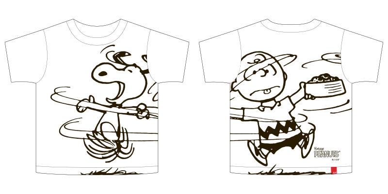 Vintage PEANUTS×OJICOコラボレーションTシャツ2020