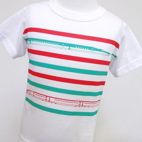半袖Tシャツ・トレインボーダー E5×E6