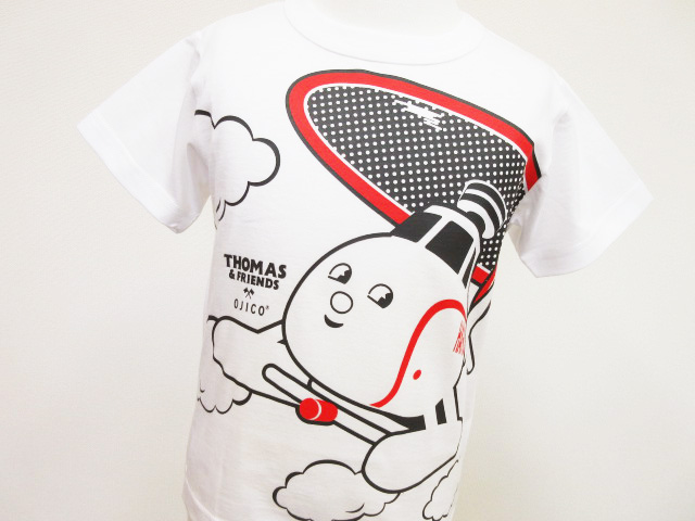 半袖Tシャツ・きかんしゃトーマス×OJICO「ハロルド」