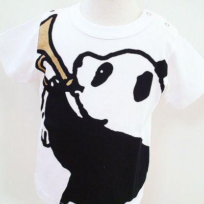 半袖Tシャツ「RAPPANDA」(ラッパンダ)