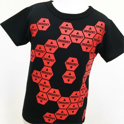 半袖Tシャツ・エヴァンゲリオン×OJICO「EMERGENCY」