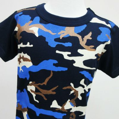 半袖Tシャツ「TRAIN CAMO E7」(トレインカーモ E7)