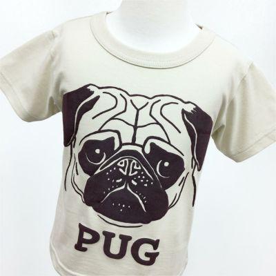 半袖Tシャツ「PUG」(パグ)