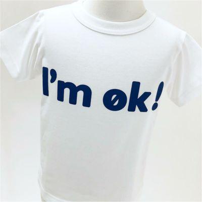 半袖Tシャツ 「I'm OK!」(アイムオッケー)